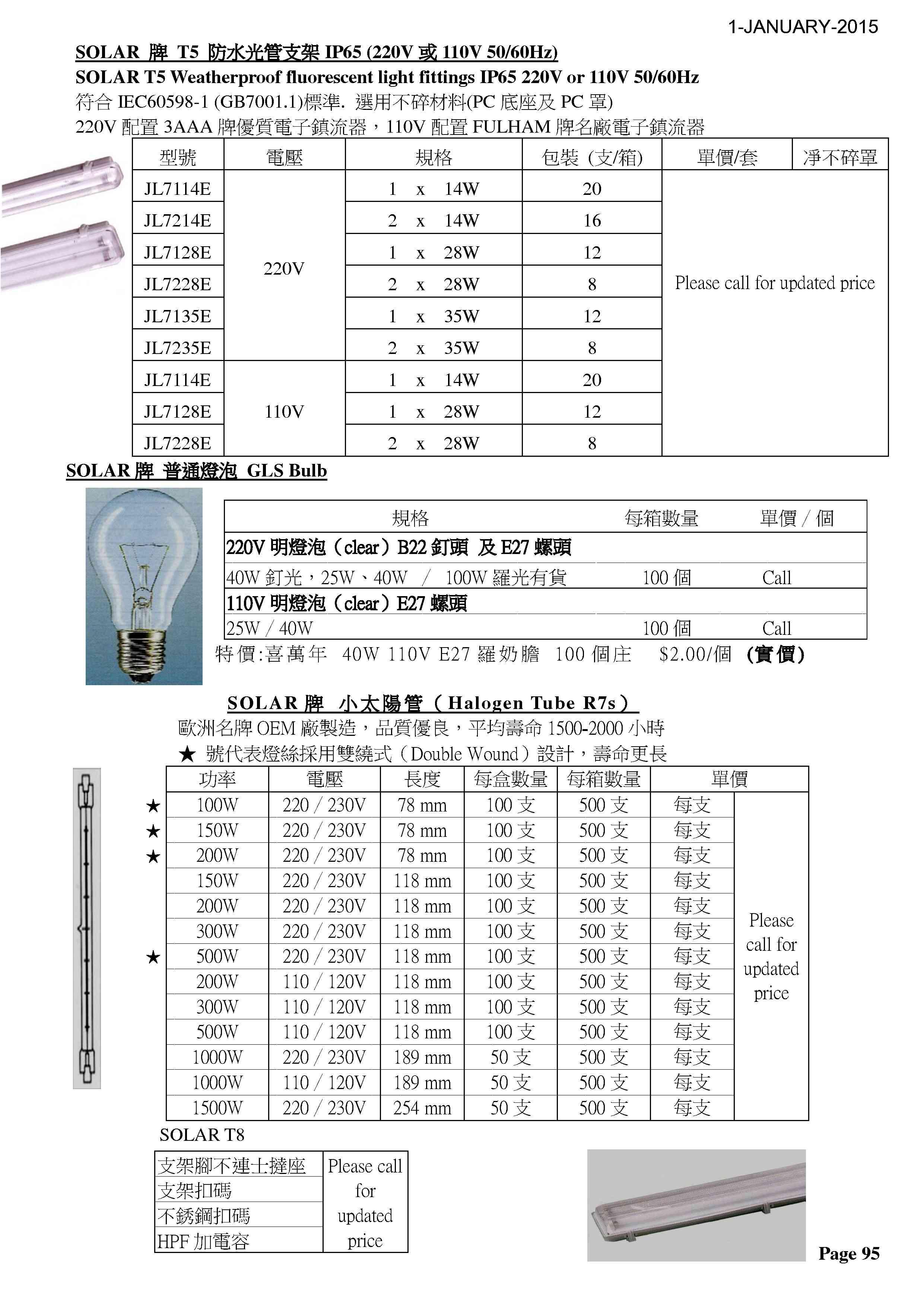 P95 - SOLAR光管1