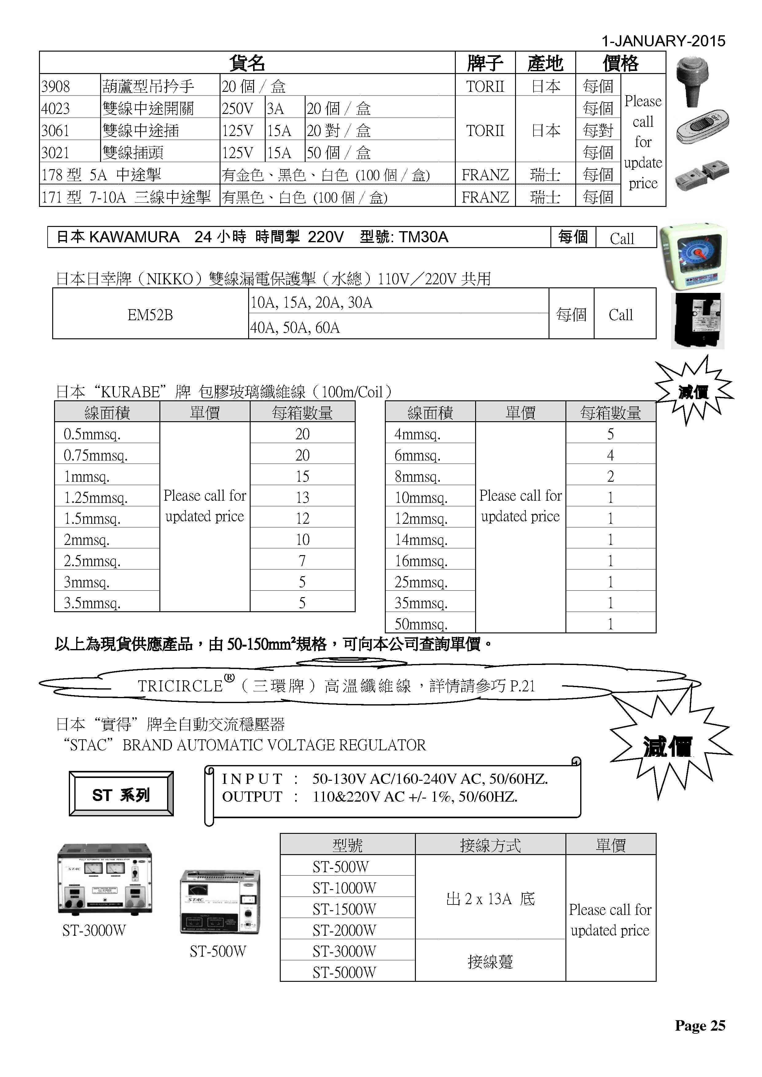 P25 - 日本產品1