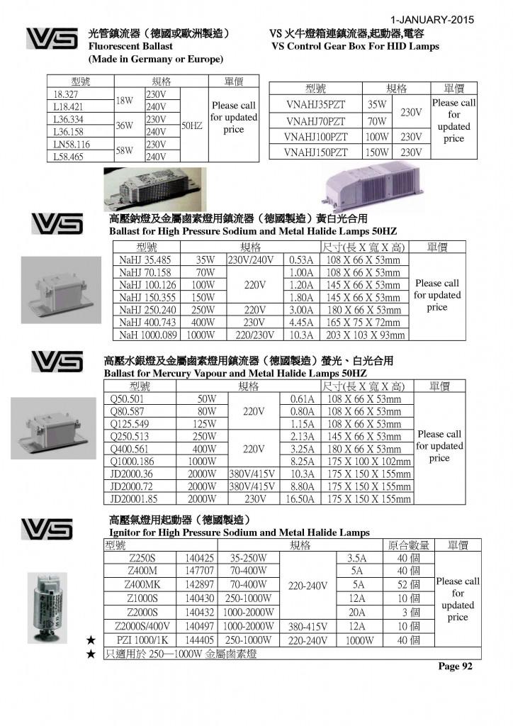 P92 - VS火牛1